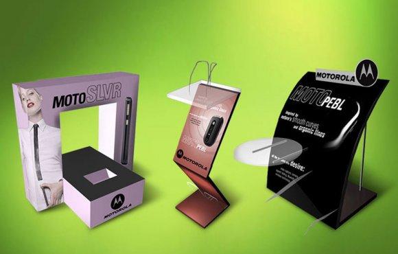 Motorola POP Display Stands