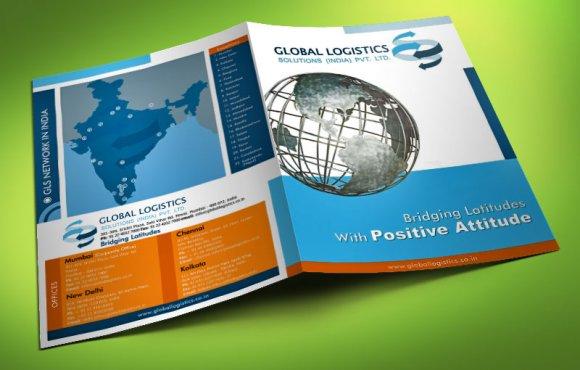 Global Logistics Flyer Folder