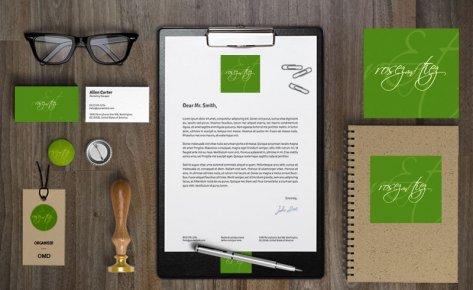 Rosez & Tiez Corporate ID