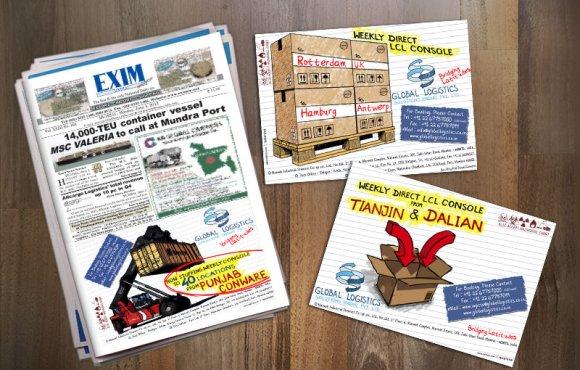 Global Logistics Newspaper Ads