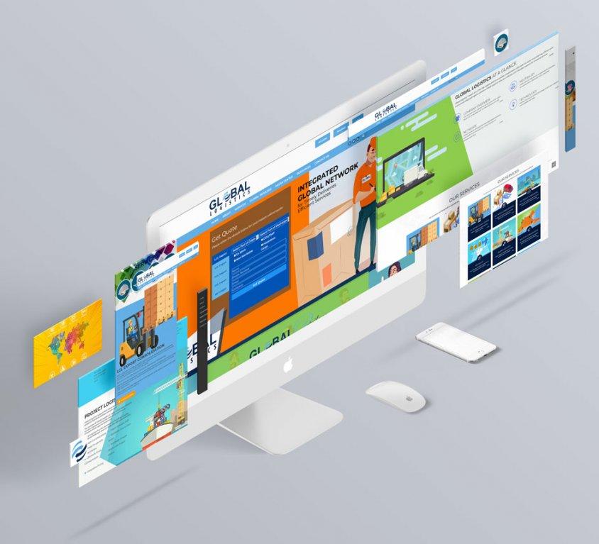 Global Logistics Website