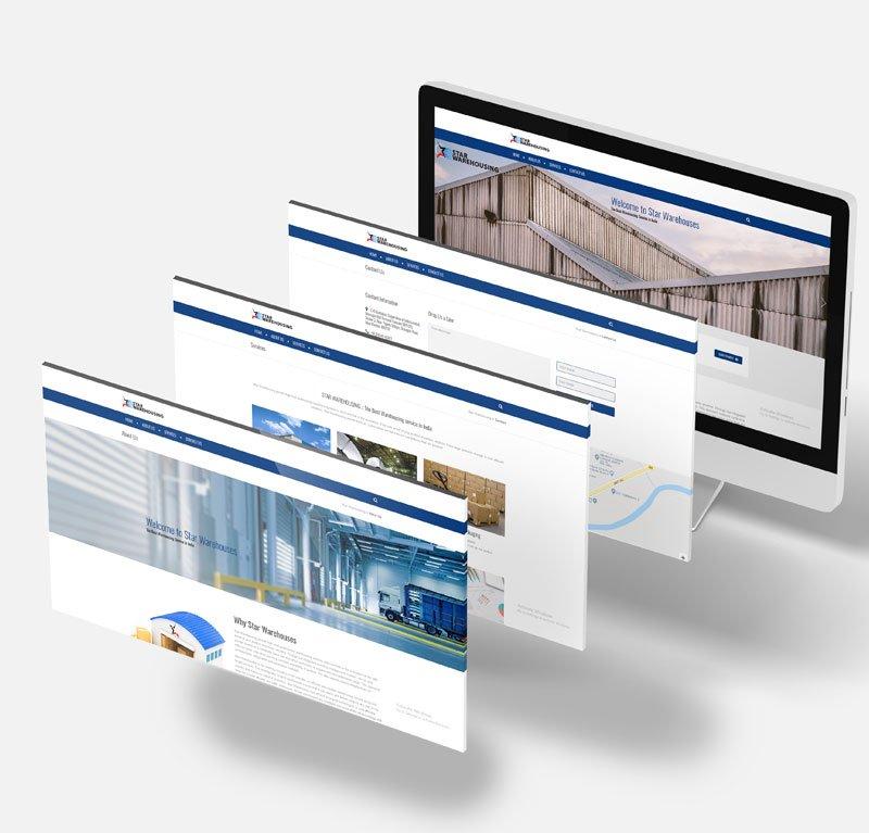 Star Warehousing Website